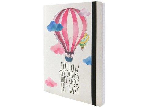 Legami Legami Notaboek small 'Follow your dreams'