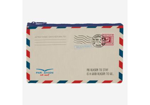 Legami Legami Zipper Pouch Funky Collection Air Mail