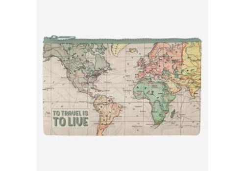 Legami Legami Zipper Pouch Funky Collection Travel