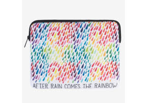 Legami Legami Tablet hoes 'After rain comes the rainbow'