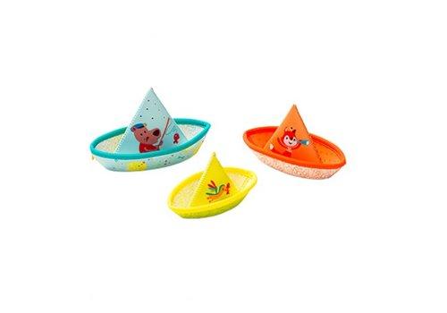 Lilliputiens Lilliputiens 3 Drijvende Bootjes
