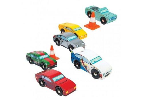 Le Toy Van Le Toy Van Montecarlo Sport Auto Set