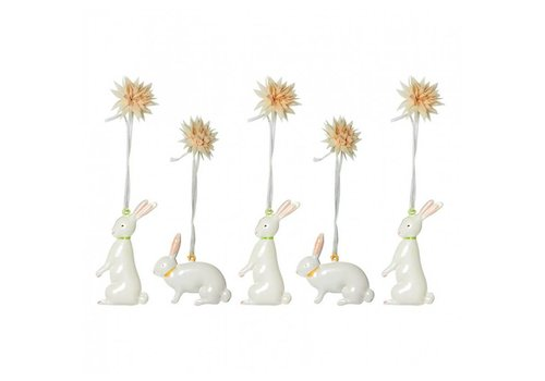 Maileg Maileg Metal Easter Bunnies in box