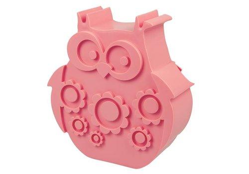 Blafre Blafre Lunchbox Owl Pink