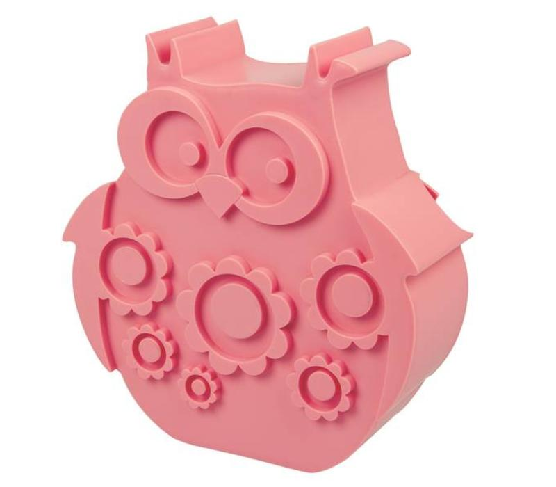 Blafre Lunchbox Owl Pink