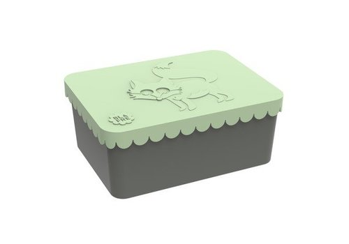 Blafre Blafre Lunchbox Fox Light Green