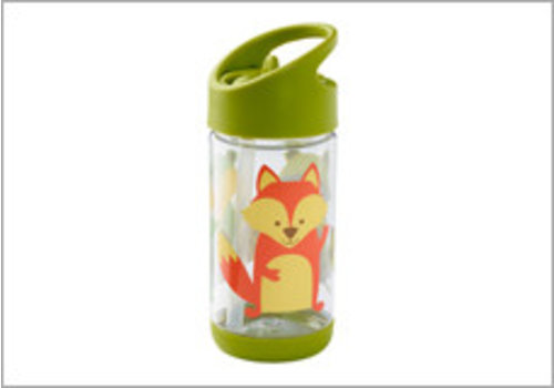 Sugarbooger Sugarbooger Flip & Sip Drinking Bottle 'What Did The Fox Eat?'