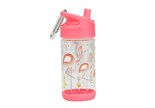 Sugarbooger Sugarbooger Flip & Sip Drinking Bottle Flamingo