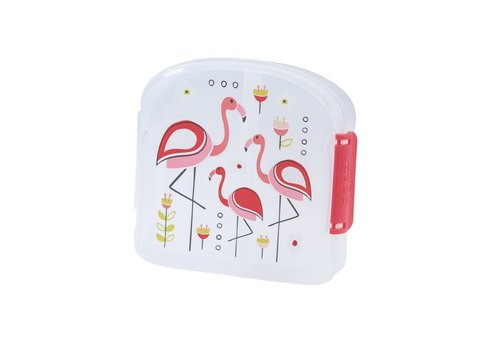 Sugarbooger Sugarbooger Good Lunch Sandwich Box Flamingo