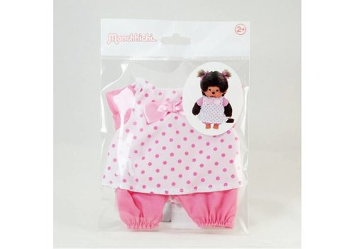 Monchhiichi Monchhichi Fashion Roze Nachtjapon