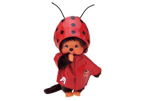 Monchhiichi Monchhichi Fashion Rode Regenjas Met Lieveheersbeestje