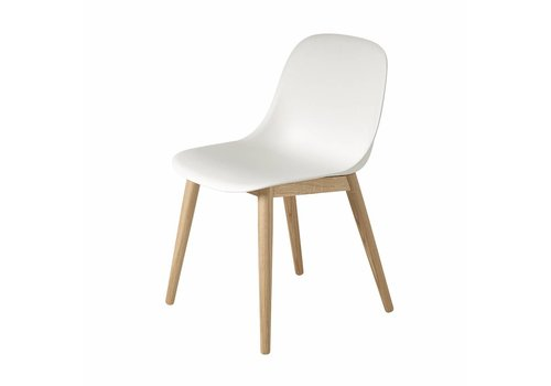 Muuto Muuto Fiber Side Chair Wood White oak