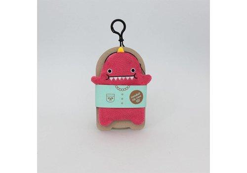 Noodoll Noodoll Dino pink GSM hoesje/portemonnee