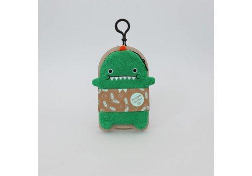 Noodoll Noodoll Dino green GSM hoesje/portemonnee