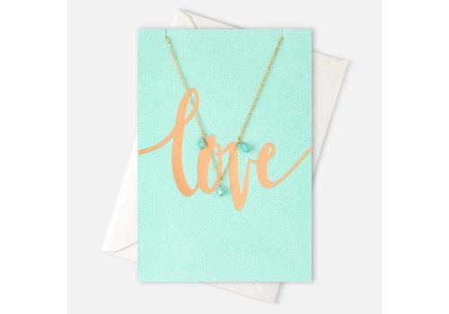 Orelia Orelia Ketting Love Gem Drop Giftcard