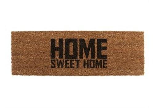 Present Time Present Time Deurmat Home Sweet Home zwart