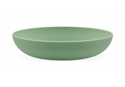 Point-Virgule Point-Virgule Bamboufibre bowl Eucalyptusgreen 32 cm