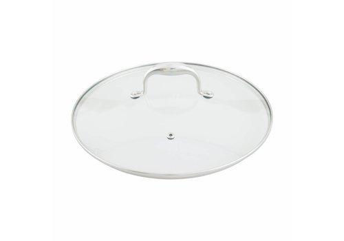 Point-Virgule Point-Virgule Pan-à-moi glazen deksel 28cm
