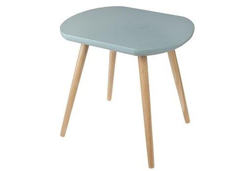 Rex International Rex International Oval Blue Side Table