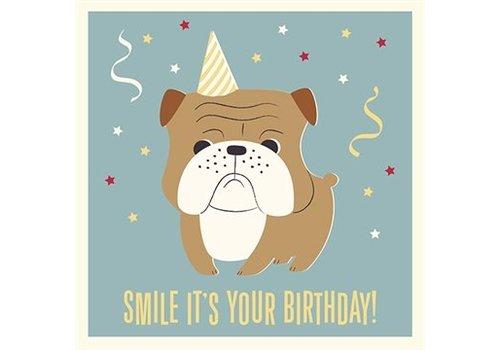 Rex International Wenskaart 'Smile it's your birthday'