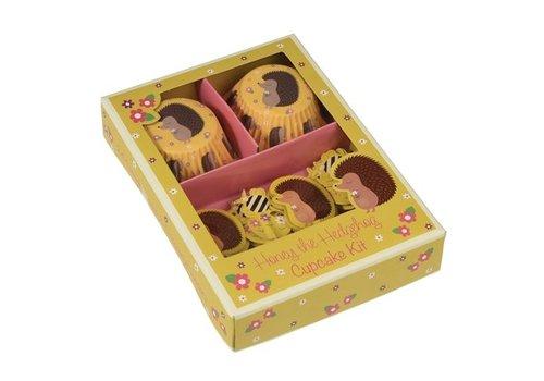 Rex International Rex International Honey De Egel Cupcake Set