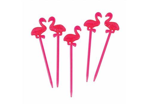 Rex International Rex International Apero Prikkers Flamingo 12st