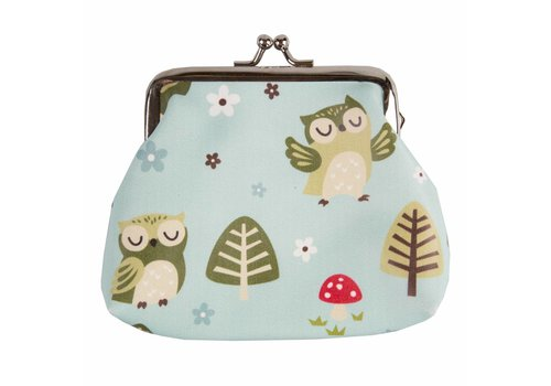 Sass & Belle Portemonnee spring forest owl