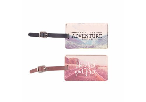 Sass & Belle Sass & Belle 'Adventure' bagage label