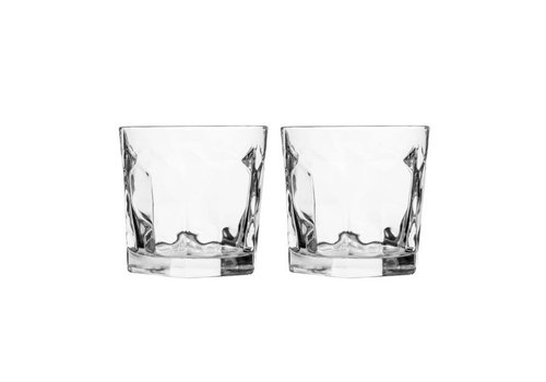 Sagaform Sagaform Club whisky glas, 2-pack