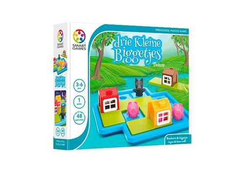 Smartgames SmartGames De Drie Kleine Biggetjes - Deluxe