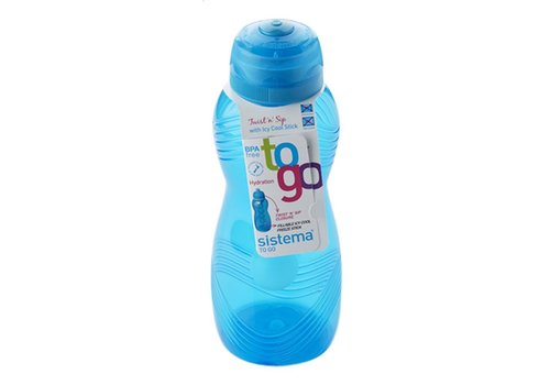 Sistema Sistema Hydrate Drinkfles Met Koelelement Wave 600 ml
