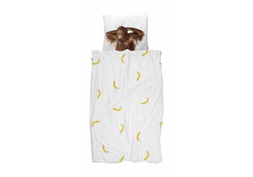Snurk Snurk Dekbedovertrek Banana 140 x 200/220