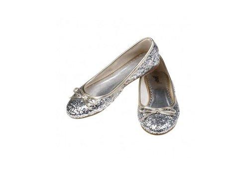 Souza! Souza! Ballerina Schoentjes Alisa Zilver Glitter Maat 25
