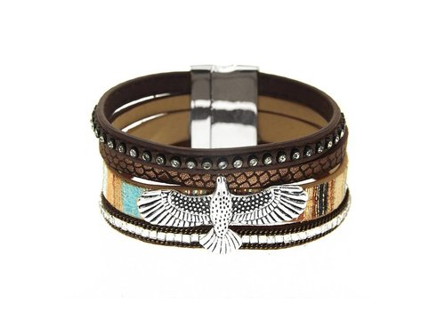 Sweet Deluxe Sweet Deluxe Armband Eagle Brown