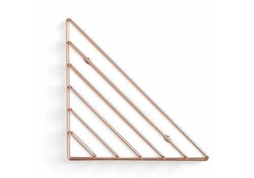 Umbra Umbra Strum Wall rack copper colored