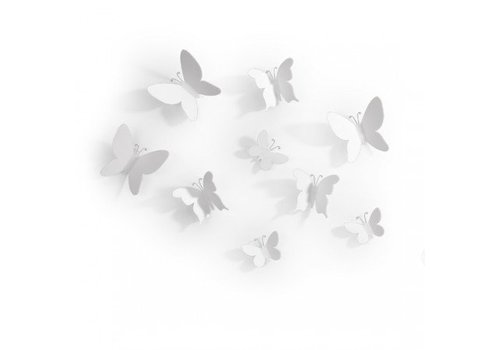 Umbra Umbra Wall Decoration Mariposa White