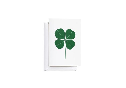 Vitra Vitra Greeting Card Small Four Leaf Clover Green