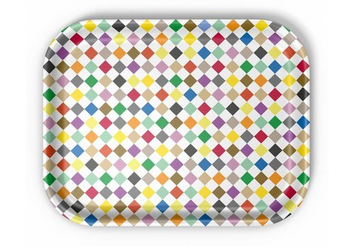 Vitra Vitra Classic Tray Medium Diamonds Multicolor