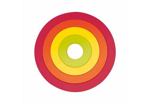 Zak! Designs Zak! designs Pannenonderzetters in 4 kleuren