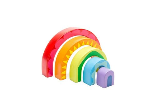 Le Toy Van Le Toy Van Rainbow Tunnel Toy