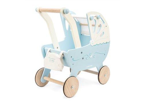 Le Toy Van Le Toy Van Moonlight Pram Blue
