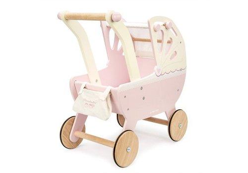 Le Toy Van Le Toy Van Moonlight Pram Pink