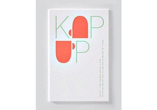 Papette Papette Wenskaart Kop Op