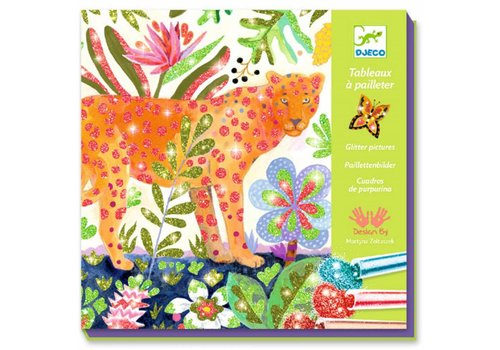 Djeco Djeco Glitterplaten Tropico