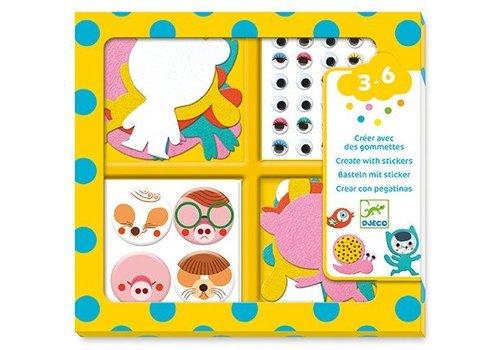 Djeco Djeco Stickers J'aime Les Animaux