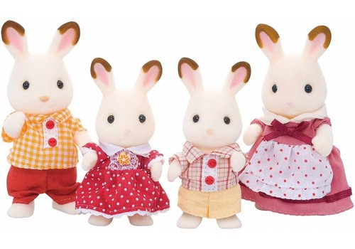 Sylvanian Families Sylvanian Families Chocolate Rabbit Family Set