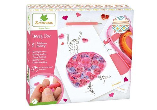 Sycomore Sycomore Quilling Frames Lovely Box