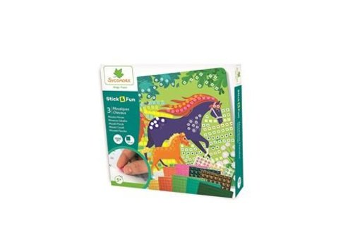Sycomore Sycomore Stick & Fun Mosaics Horses