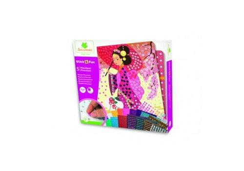 Sycomore Sycomore Stick & Fun Mosaics Princesses