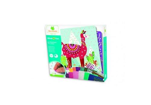 Sycomore Sycomore Stick & Fun Mosaics Lamas